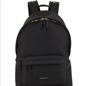 Givenchy Rubber Effect Star Studded Backpack